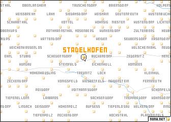 map of Stadelhofen