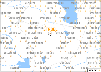 map of Stadel
