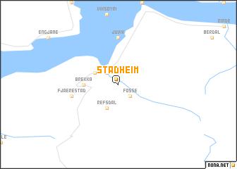 map of Stadheim