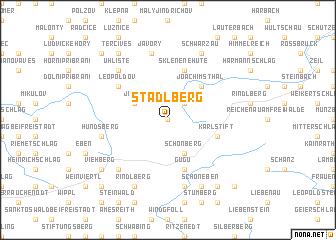 map of Stadlberg