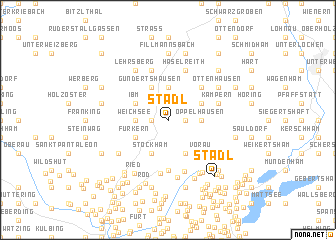 map of Stadl