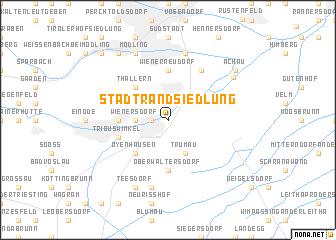 map of Stadtrandsiedlung