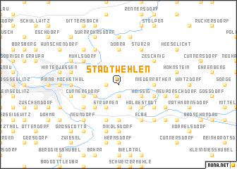 map of Stadt Wehlen