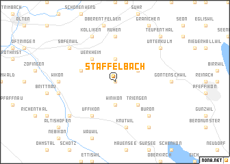 map of Staffelbach
