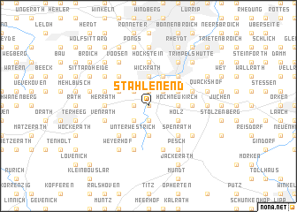 map of Stahlenend