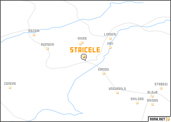 map of Staicele