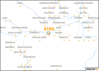 map of Staig