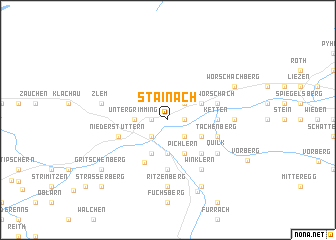 map of Stainach