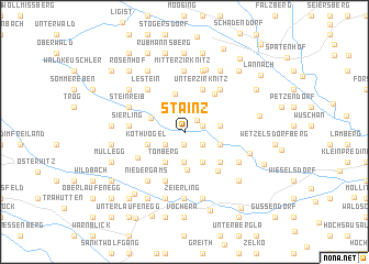 map of Stainz