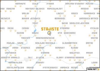 map of Stajiště