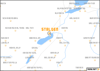 map of Stalden