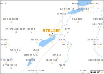 map of Stalden