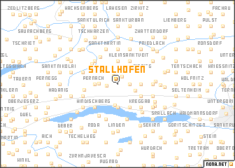 map of Stallhofen