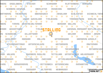 map of Stalling