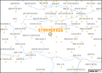 map of Stammeregg