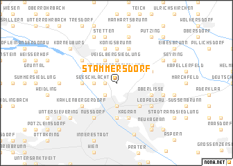 map of Stammersdorf