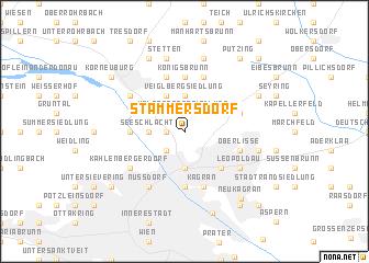 map of Stammersdorf