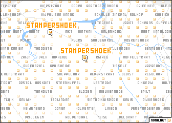 map of Stampershoek