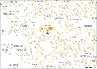 map of Stanari