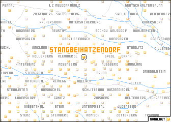 map of Stang bei Hatzendorf