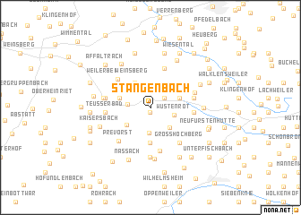 map of Stangenbach