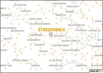map of Stangenbach