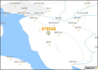 map of Stange
