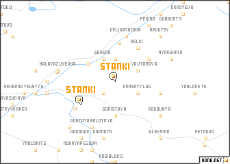 map of Stanki