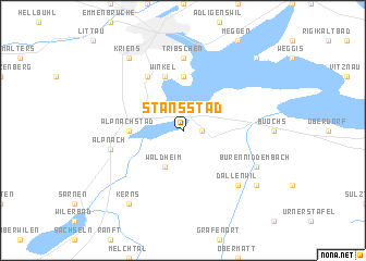map of Stansstad