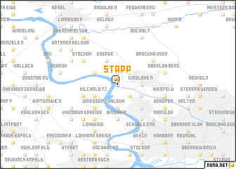map of Stapp