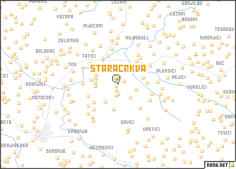 map of Stara Crkva