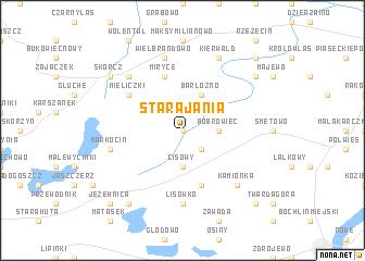 map of Stara Jania