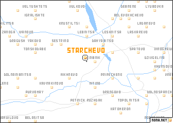 map of Starchevo
