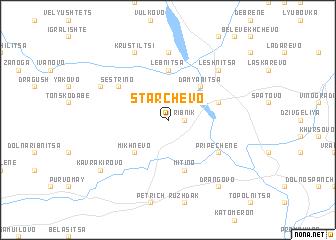 map of Starchevo