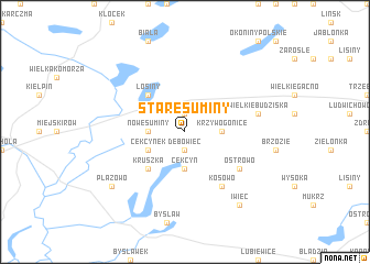 map of Stare Suminy