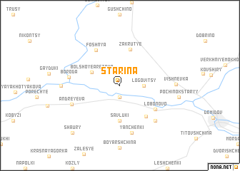 map of Starina