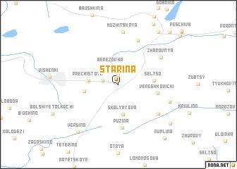 map of Starina