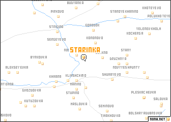 map of Starinka