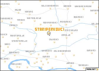 map of Stari Perkovci