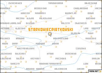 map of Starkowiec Piatkowski