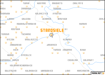 map of Starosiele