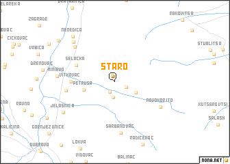 map of Staro