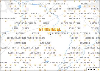 map of Starsiedel