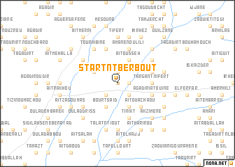 map of Start n'Tberbout