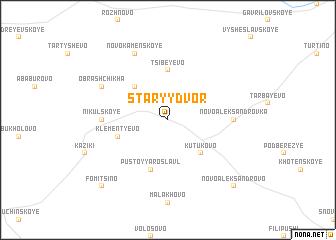 map of Staryy Dvor
