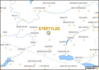 map of Staryy Lug