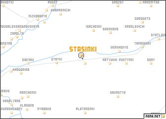 map of Stasinki