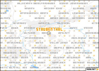 map of Staubenthal