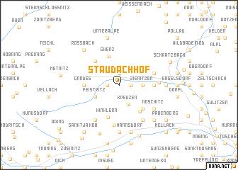 map of Staudachhof