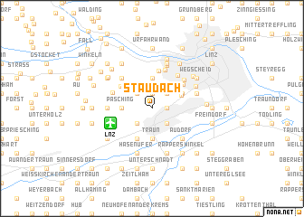 map of Staudach